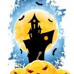 Grungy Halloween Background — Stock Vector #50783287