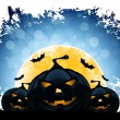 Grungy Halloween Background — Stock Vector #50783381