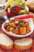 Beew stew or goulash — Stock Photo