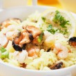 Seafood risotto — Stock Photo #21313109
