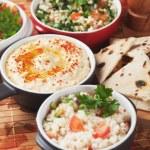 ������, ������: Hummus mediterranean chickpea and tahini dip