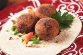 Falafel, middle eastern classic food — Stock Photo