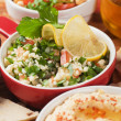 Stock Photo: Tabbouleh, bulgur wheat salad