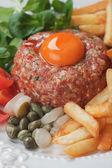 Tartar steak — Stock Photo