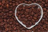 Pražená kávová zrna — Stock fotografie