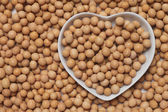 Dried soy bean — Stock Photo