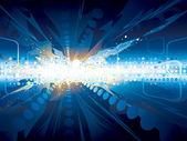 Explosion technology — Stock Vector