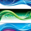 Technology Banners - Image vectorielle