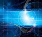 Teknoloji arka plan — Stok Vektör