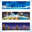 Royalty-Free Stock Vector Image: Urban Night.