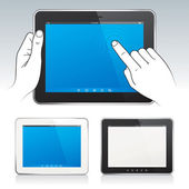Digital tablet pc — Vector de stock