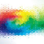 Kunst van het molecuul. — Stockvector