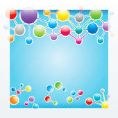 Molecules Structure — Stock Vector