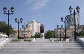 Vladivostok city — Stock Photo
