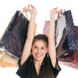 Happy shopper — Stockfoto