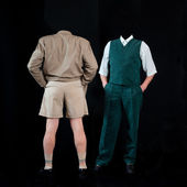 Invisible men — Stock Photo