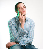 The thinker — Stock Photo