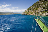 Turkish coast — Stock Photo