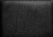 Black leather — Stock Photo