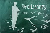 Time for Leaders — Stock Photo