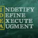 Idea acronym — Stock Photo #34610219