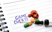 Drugs ,Game Over — Foto Stock