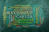 Career word cloud — Stok fotoğraf