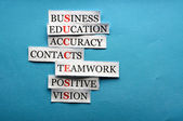 Success collage acronym — Stock Photo