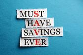 Save cut — Stock Photo