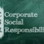 Csr corporate social responsibility — Stock Photo #41887255
