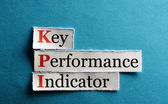 Kpi  abbreviation — Stock Photo