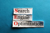 Seo abbreviation — Stock Photo