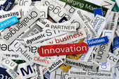 Innovation collage — Stock Photo