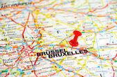 Bruxelles pin — Stock Photo