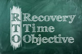 Disaster recovery — Stockfoto