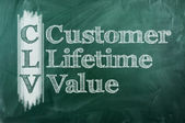 Custumer Lifetime Value — Stock Photo