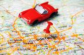 Dortmund , Germany  map auto — Stock Photo