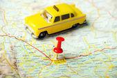 Trikala griechenland karte raxi — Stockfoto