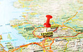 Izmir ,Turkey  map — Stock Photo