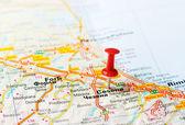 Cesena  Italy map — Stock Photo