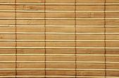 Hölzerne bambusmatte — Stockfoto