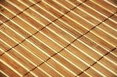 Stuoia di bambù in legno — Foto Stock