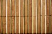 Wooden bamboo  mat — Stockfoto