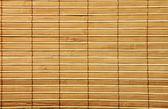 Estera de bambú de madera — Foto de Stock