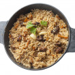 Stock Photo: Pilau in stew pan
