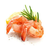Shrimp's tails — Stock Photo