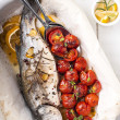 cooked fish — Stock Photo