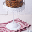 Stock Photo: Christmas pudding