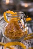 Candied orange peel — Stock Photo