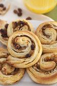Rouleaux de pâte feuilletée — Photo